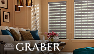Graber Window Fashions Available now at Quality Carpet & Tile