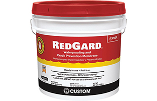 RedGard Waterproofing and Crack Prevention Membrane