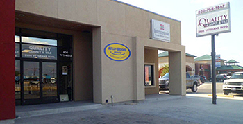 Quality Carpet & Tile Store Front