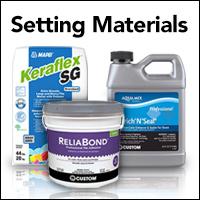 Setting Materials