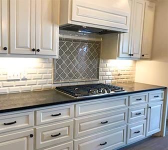 Quality Carpet & Tile custom kitchen project